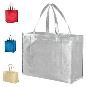 Metallic Gloss Tote - thumbnail view