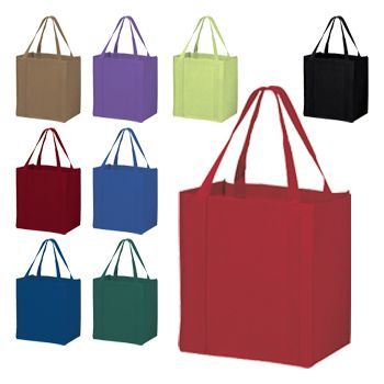 Economy Grocery Bags - detailed view