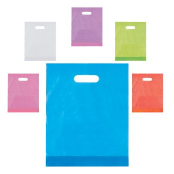Frosted Die Cut Bags - detailed view
