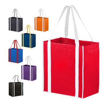 Two-Tone Tote With Inserts