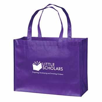 Imprinted Gloss Grocery Bags