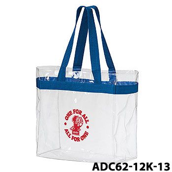 Imprinted Crystal Clear Tote