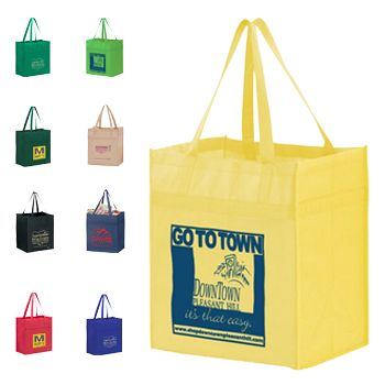 Custom Y2K Heavy Duty Grocery Bags