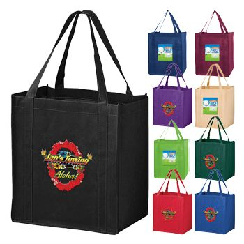 Custom Economy Grocery Totes - thumbnail view