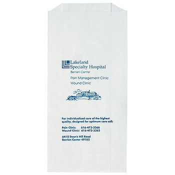 Imprinted Prescription Bags