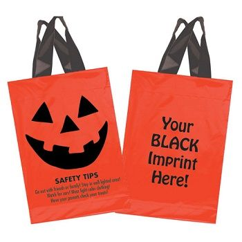 Halloween Pumpkin Face Bags