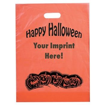 Halloween Bags - Pumpkin Row