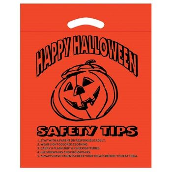Halloween Bags - Safety Tips - thumbnail view