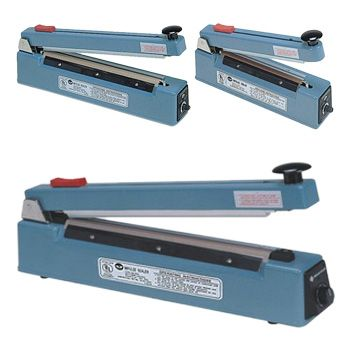 Impulse Sealers with Cutter - detailed view