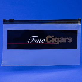 Fine Cigars Imprint Slidelock Bags