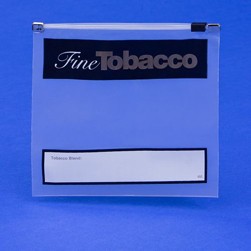 Fine Tobacco Imprint Slidelock Bags - thumbnail view