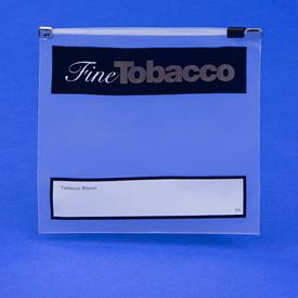 Fine Tobacco Imprint Slidelock Bags