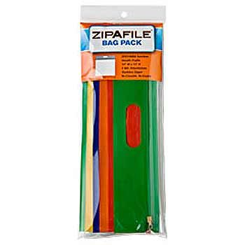 Zipafile Reclosable Plastic Bag 6Packs - thumbnail view