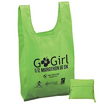 Imprinted Polyester T-Shirt Bags