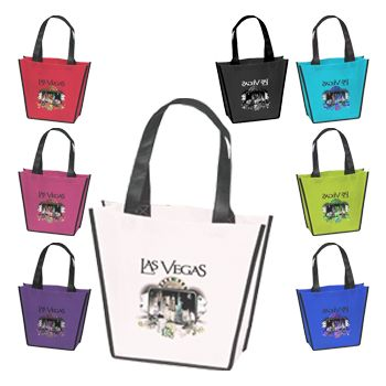 Imprinted Carnival Tote - icon view