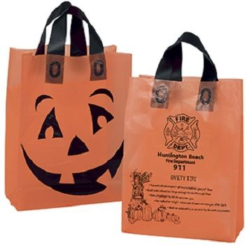 Orange Frosted Pumpkin Shopper - thumbnail view
