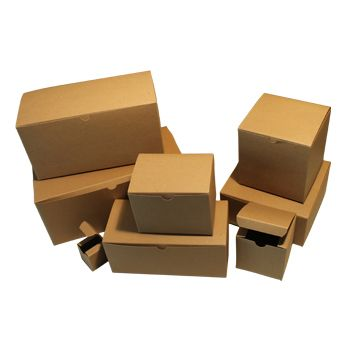 100% Recycled Kraft Tuckit Gift Boxes - thumbnail view