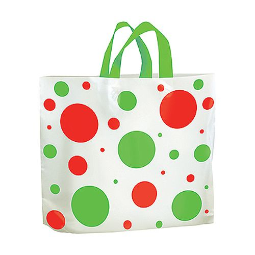 Ameritote Holiday Dots Print