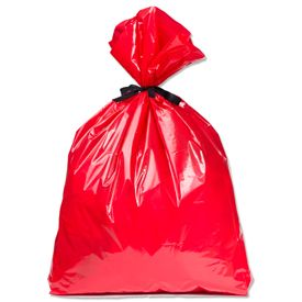 Jumbo Bag Holiday Big Red Prints