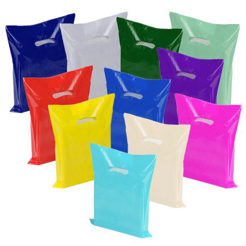 Super Gloss Die Cut Handle Bags - thumbnail view