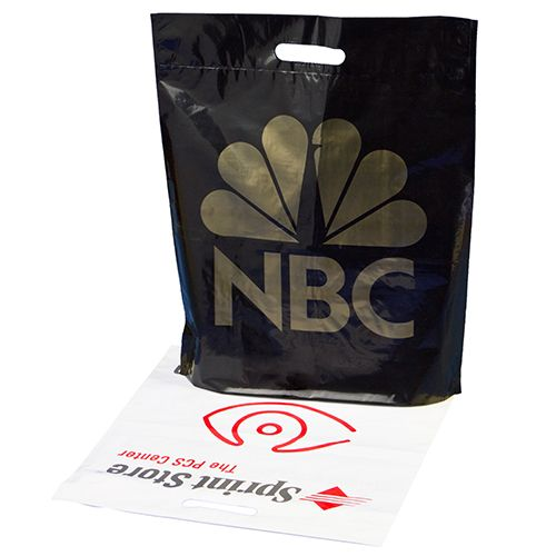 Custom Reinforced Die Cut Handle Bags
