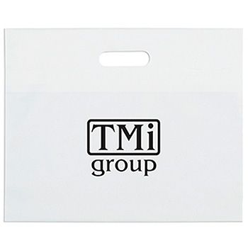 Personalized Die Cut Handle Bags - thumbnail view