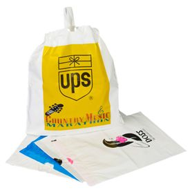 Custom Draw Tape Plastic Bags