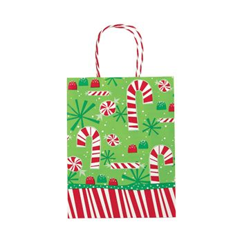 Contempo Canes Paper Shopping Bags - thumbnail view