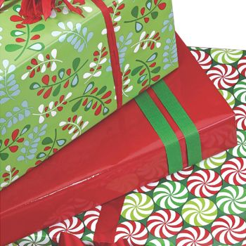Christmas Gift Wrap - detailed view