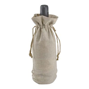 Linen Wine Bag - thumbnail view