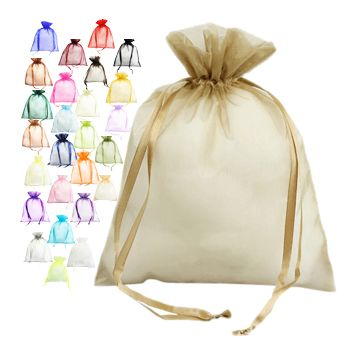 Organza Bag W/Ribbon String