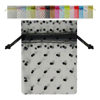 Tulle Bags W/ Swiss Dots - icon view