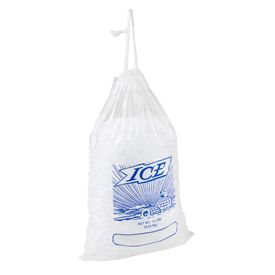 Printed Drawstring Ice Bags - thumbnail view