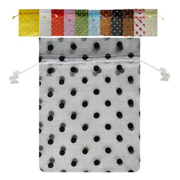 Polka-dot Print Bags - detailed view