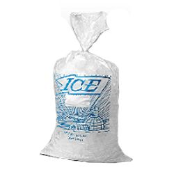 Printed Ice Bag on Wicket Dispenser
