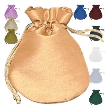 Satin Round Bags - icon view