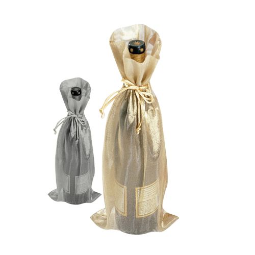 Metallic Wine Bags