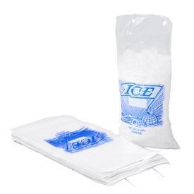 Printed Ice Bags on Plastic Headers
