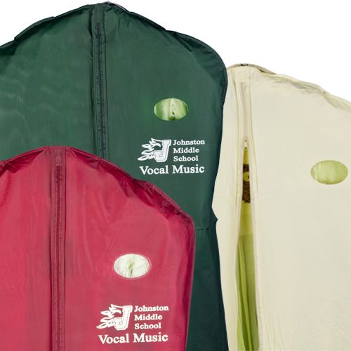 Imprinted Taffeta PVC Garment Bags - icon view