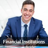 By Industry (Financial Institutions)
