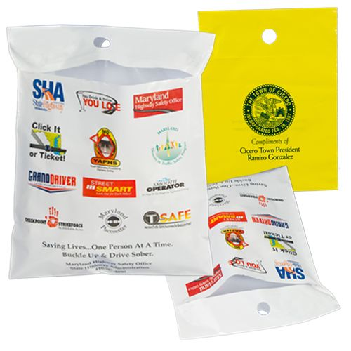 Custom Printed Litter Bags - detailed view