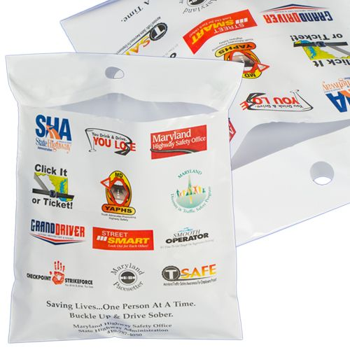 Digital Printed Litter Bags