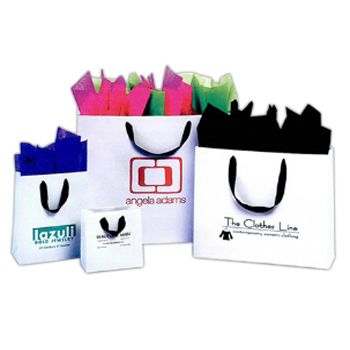 Imprinted European Ribbon Bags