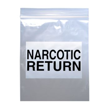 Narcotic Return Bags