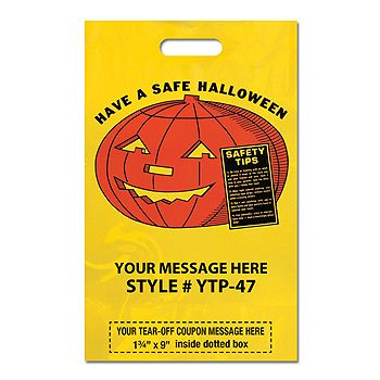 Coupon Halloween Bags - Have A Safe
