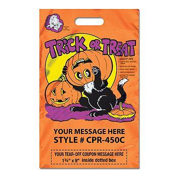 Metallic Coupon Bags - Halloween Bags - thumbnail view