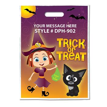 Full Color Trick Or Treat (Witch)