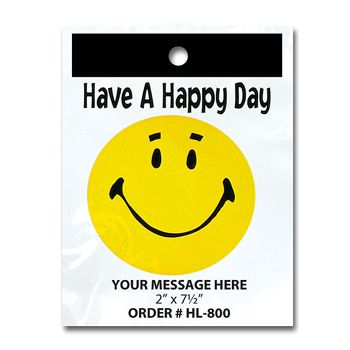 Stock Designs Litterbags - Have a Happy