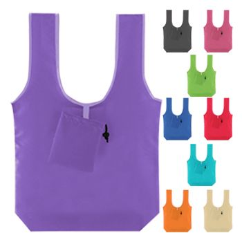 Fold-N-Go T-Shirt Handle Bags