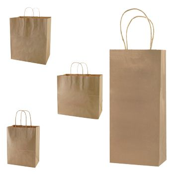Recycled Natural Shopping Bags